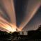 流れる雲ときぼうの光