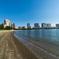 人工の砂浜