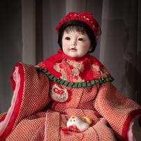 「秋の和人形展」