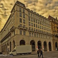 黄金色の旧市街