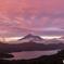 大観山の夕景