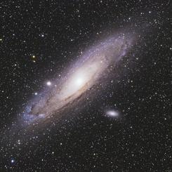 ハロウィーンの夜のアンドロメダ銀河