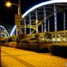 前橋の群馬大橋ライトアップ①