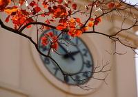 時計台の秋