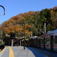 京王線 高尾山口駅ホーム