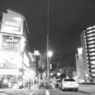 都会の夜を彷徨う