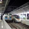 夜の高松駅