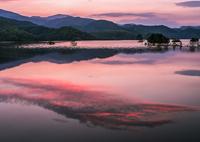 秋元湖の朝
