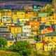 夕陽の当たる北のバルパライソ 〜世界遺産のような街並み〜