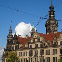 ドイツ (339) ドレスデンの青い空