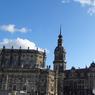 ドイツ(357)ドレスデンの青い大空