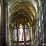プラハ城(356)ステンドグラス・聖ヴィート大聖堂