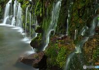 千条の滝も復旧