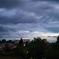 曇天の夕景