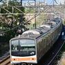 東浦和東川口間を行く、205系62M編成