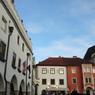 チェコ(486)チェスキー・クルムロフの広場
