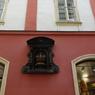 チェコ(482)プラハの壁・紋様・窓