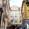 チェコ(483)プラハの街並みとHITO
