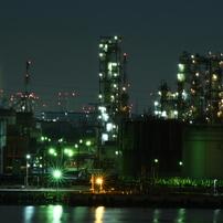 工場夜景6。