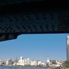 橋の下からスカイツリー