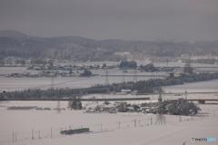 雪中を往く