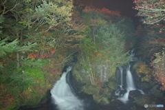 真夜中の竜頭の滝