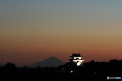 城と富士_02