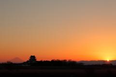 関宿城&富士
