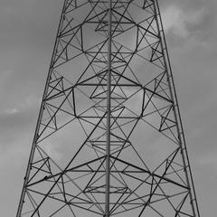 鉄塔の模様