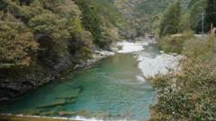 石鎚の加茂川