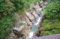 仙人谷ダム下流