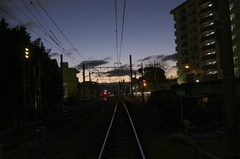 平野駅東踏切