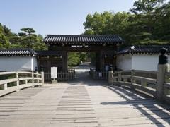 和歌山城・一の橋 大手門