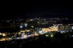尾道の夜景(尾道水道)