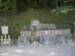 和歌山城・伏虎像