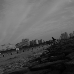 空と川と親子