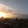 バリの夕日