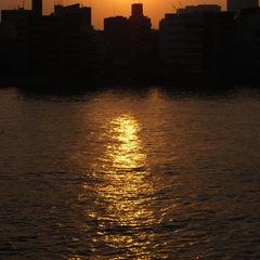 夕焼け 2008/5/21