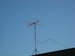 電波受信中