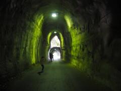 不思議なトンネル