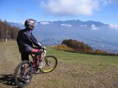 富士見パノラマから八ヶ岳を望む