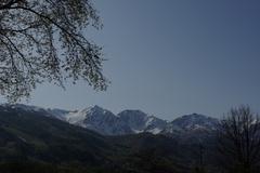 春の白馬三山
