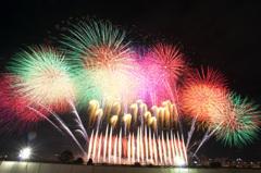 なにわ淀川花火大会  2012