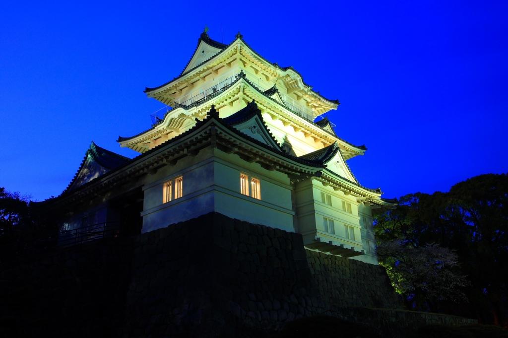 小田原城ライトアップ