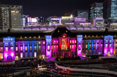 東京ミチテラス2015 東京駅スペシャルライトアップ /4
