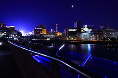 横浜大さん橋からの夜景/2