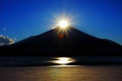山中湖ダイヤモンド富士