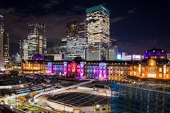東京ミチテラス2015 東京駅スペシャルライトアップ /1