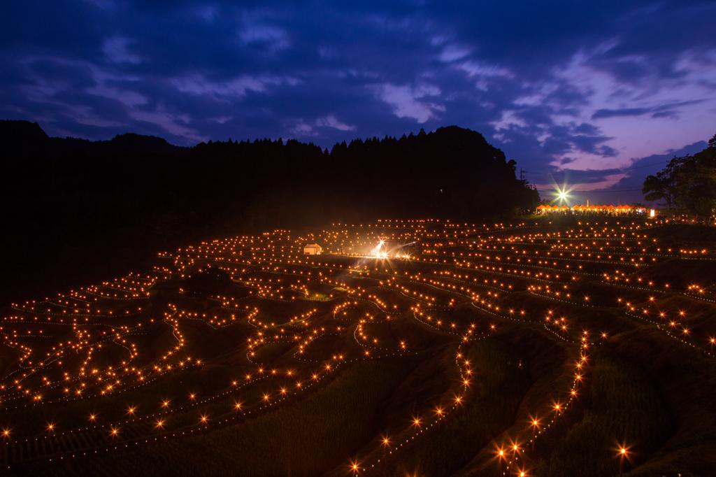 棚田の夜祭り2015