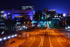 横浜大さん橋より夜景/1